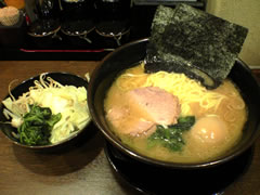 麺屋 黒 全部入り(並)