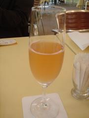 誕生日特典 シャンパン