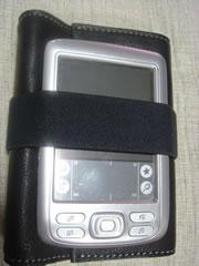 包み込む手帳 with Palm Zire72
