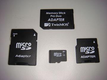microSDとその仲間たち