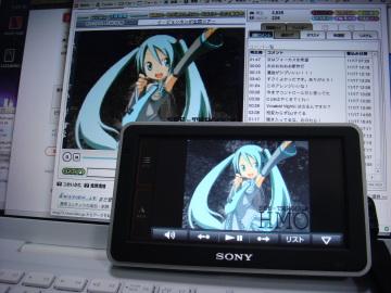 NV-U2でmp4