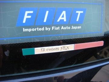 プント 13 colors HLX ステッカー