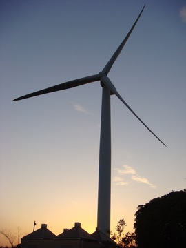 風車@若洲公園