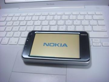 N810 起動画面