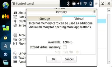 N810 Virtual Memory