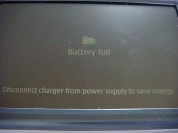 N810 充電完了