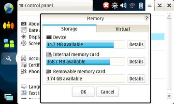 N810 メモリ状況