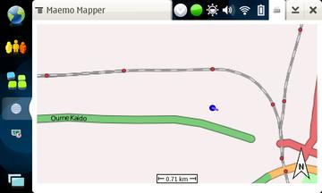 N810 Maemo Mapper