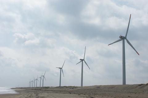 波崎ウィンドファーム 風車