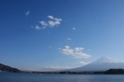 富士山 河口湖 大石公園