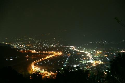 貸別荘 夜景