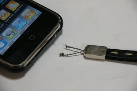 iPhone ストラップ