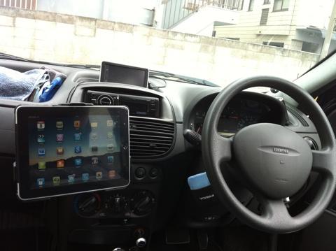 iPad 車載